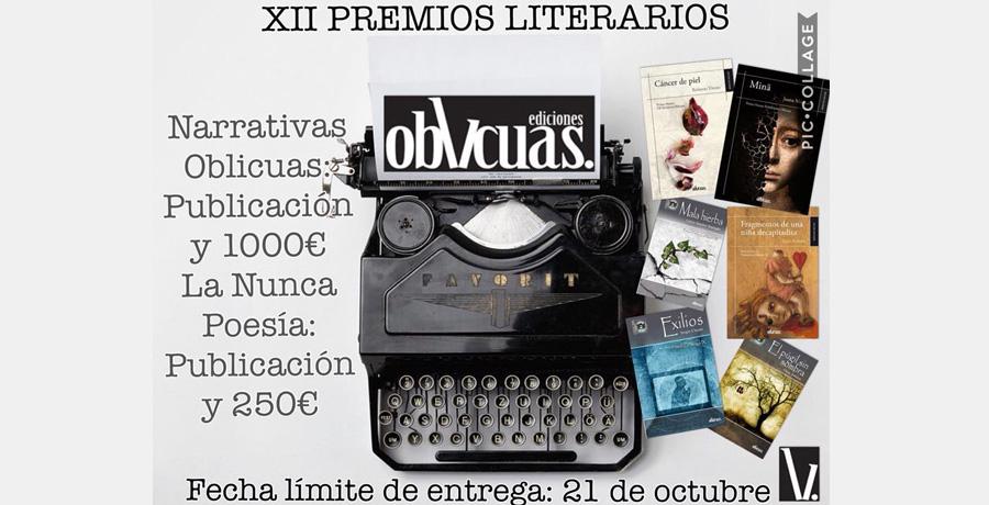 XII Premios literarios